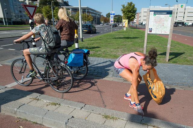 Ploggen: afval verzamelen tijdens het joggen , Breda, 2018