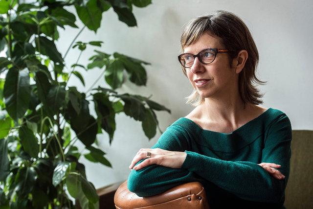 Kathy Mathys, schrijfster, 2018