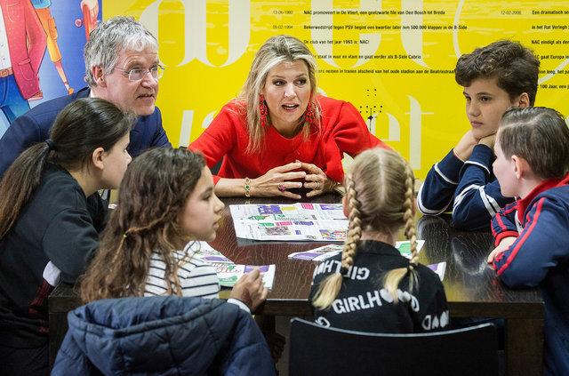 Koningin Maxima opent Week van het geld, Breda, 2019
