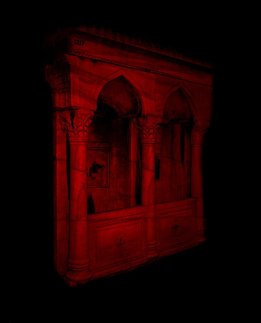 Red Facade, 2018,  Archival Pigment Print, 98 x 78,4 cm, Ed. 5 + 2AP