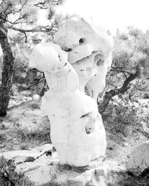 Stone Robot, 2020, Archival Pigment Print, 50 x 40 cm, Ed. 3 + 2AP