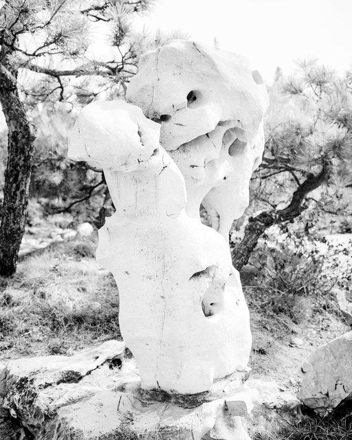 Stone Robot, 2020, Archival Pigment Print, 45 x 36 cm, Ed. 3