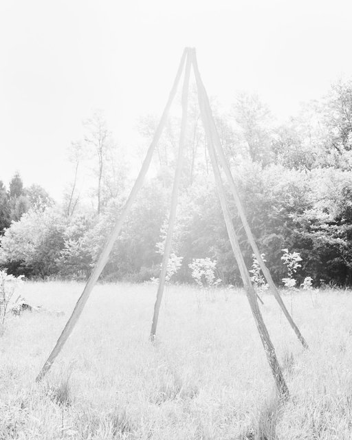 Wooden Triangle, 2018, Archival Pigment Print, 45 x 36 cm, Ed. 3