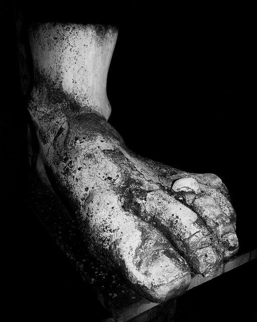 Foot, 2020, Archival Pigment Print, 180 x 150 cm, Ed. 1