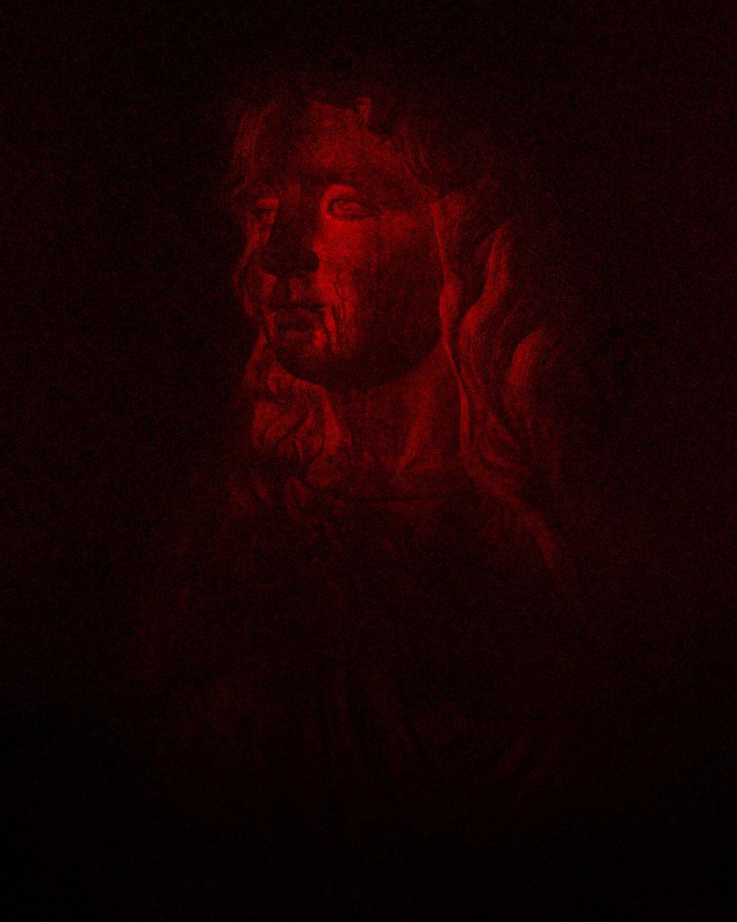 Red Statue 01, 2017, Archival Pigment Print, 50 x 40 cm, Ed. 3 + 2AP