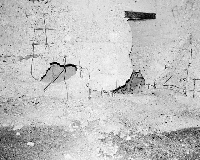 Concrete Ruin, 2019, Archival Pigment Print, 135 x 107,8 cm, Ed. 3 + 2AP / Also Available 180 x 150 cm, Ed. 1 + 1AP