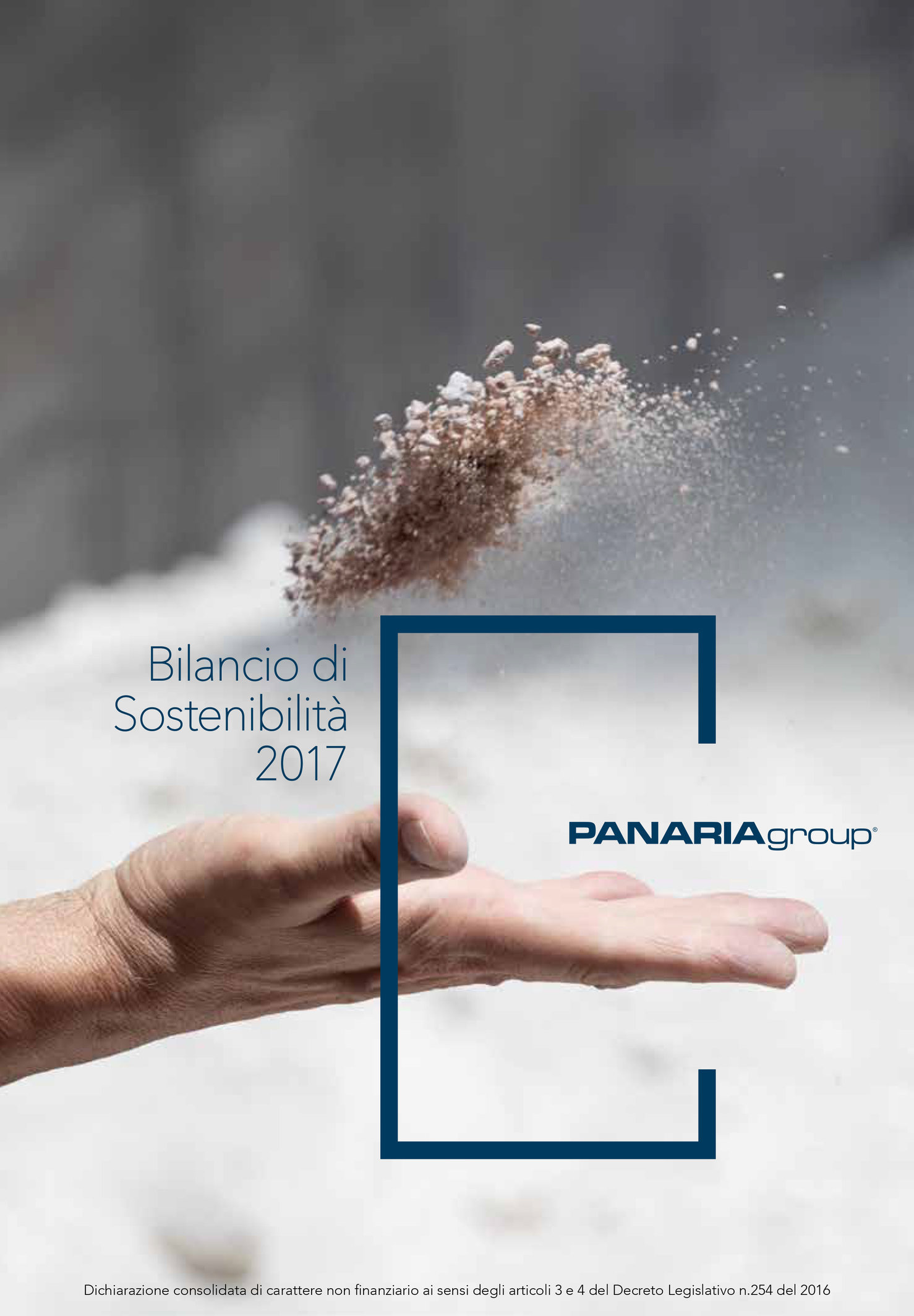 CORPORATE SUSTAINABILITY REPORT 2017 PANARIAGROUP
