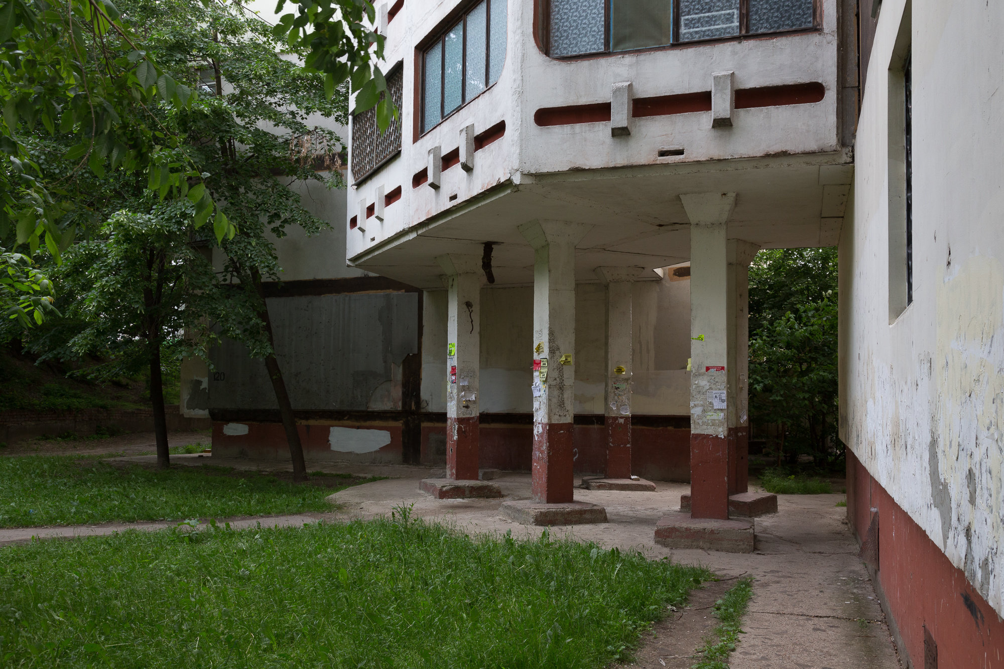 Residential building in Tiraspol