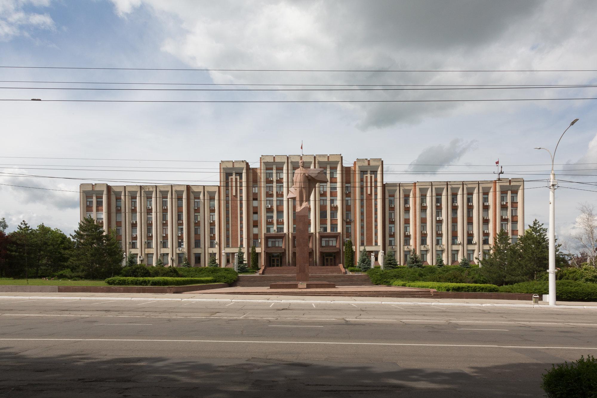 Transnistrian parliement.