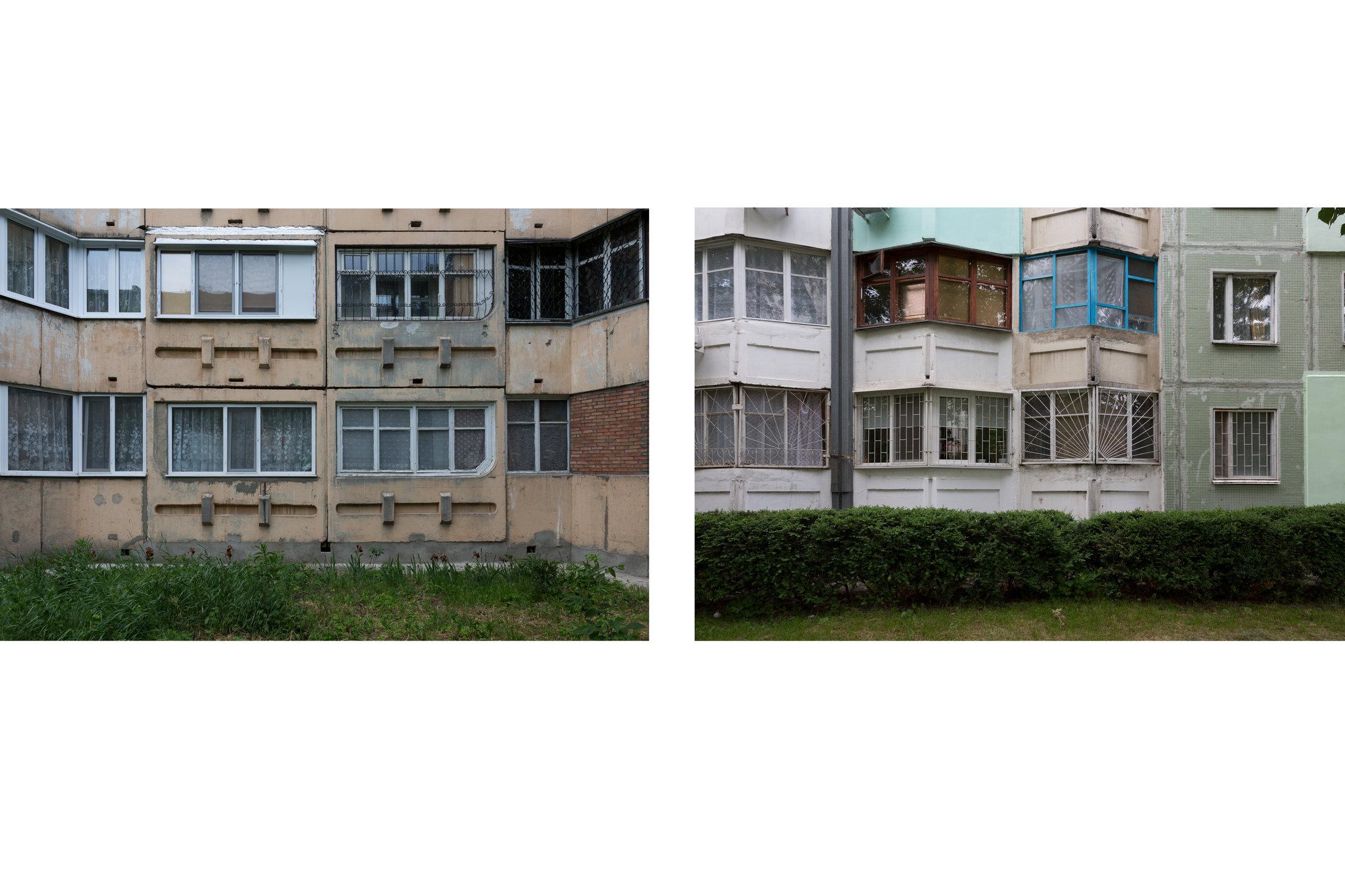 Residential buildings in Tiraspol