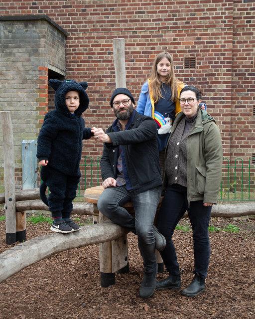 Solly, David, Manu and Rachel.