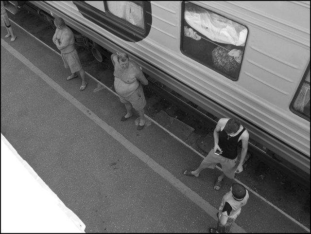Train Nijni-Ekaterinenbourg
