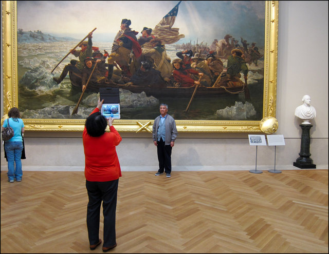 Washington Crossing the Delaware by Emanuel Leutze, 2012