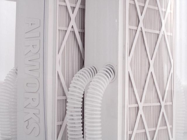 """""""Airworks"""", λεπτομέρεια"""
