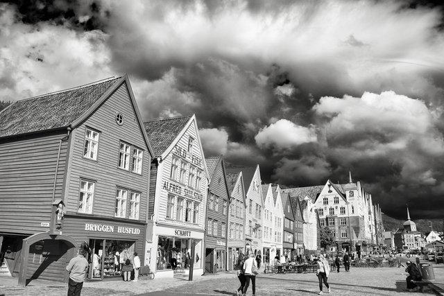 """Himmel in Norwegen I"", Bergen 2012"