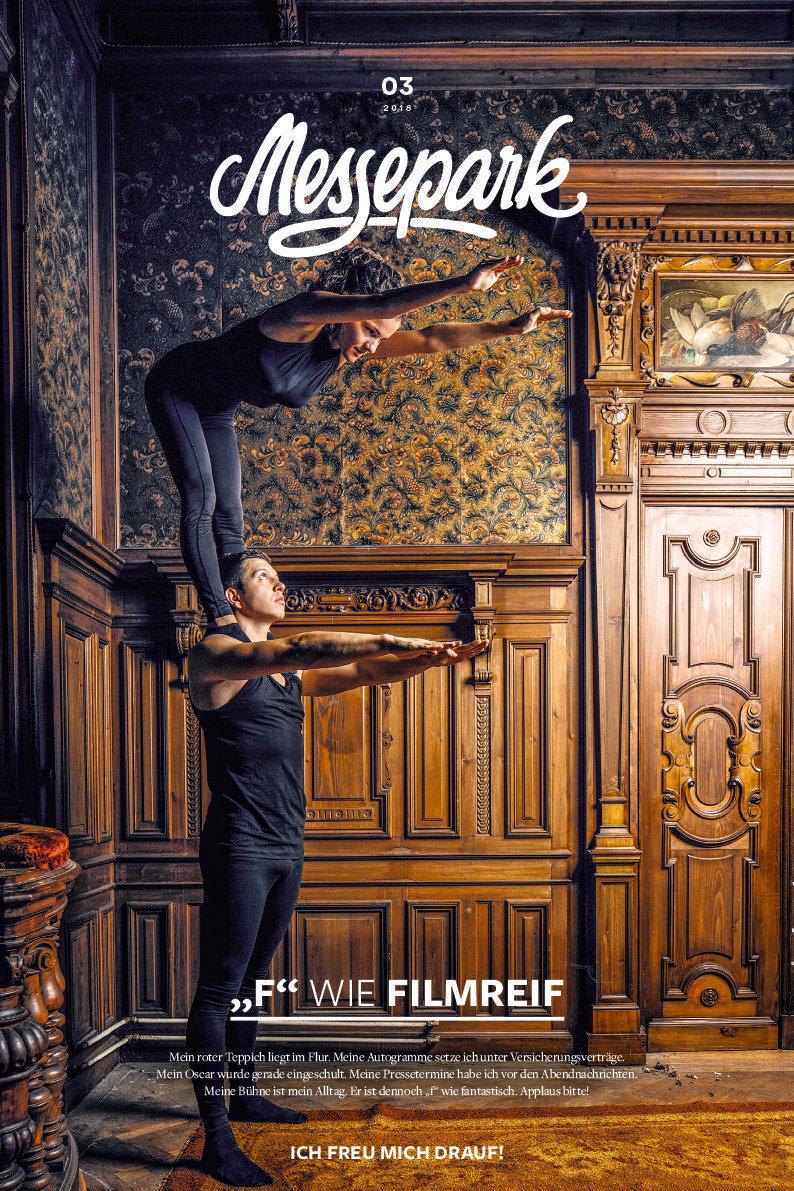 """Magazine für """"Messepark"""" Dornbirn/Vorarlberg"""