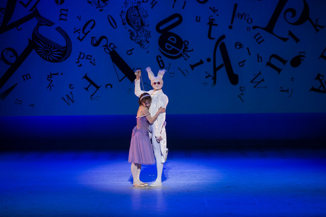 alice in wonderland choreography by christopher wheeldon