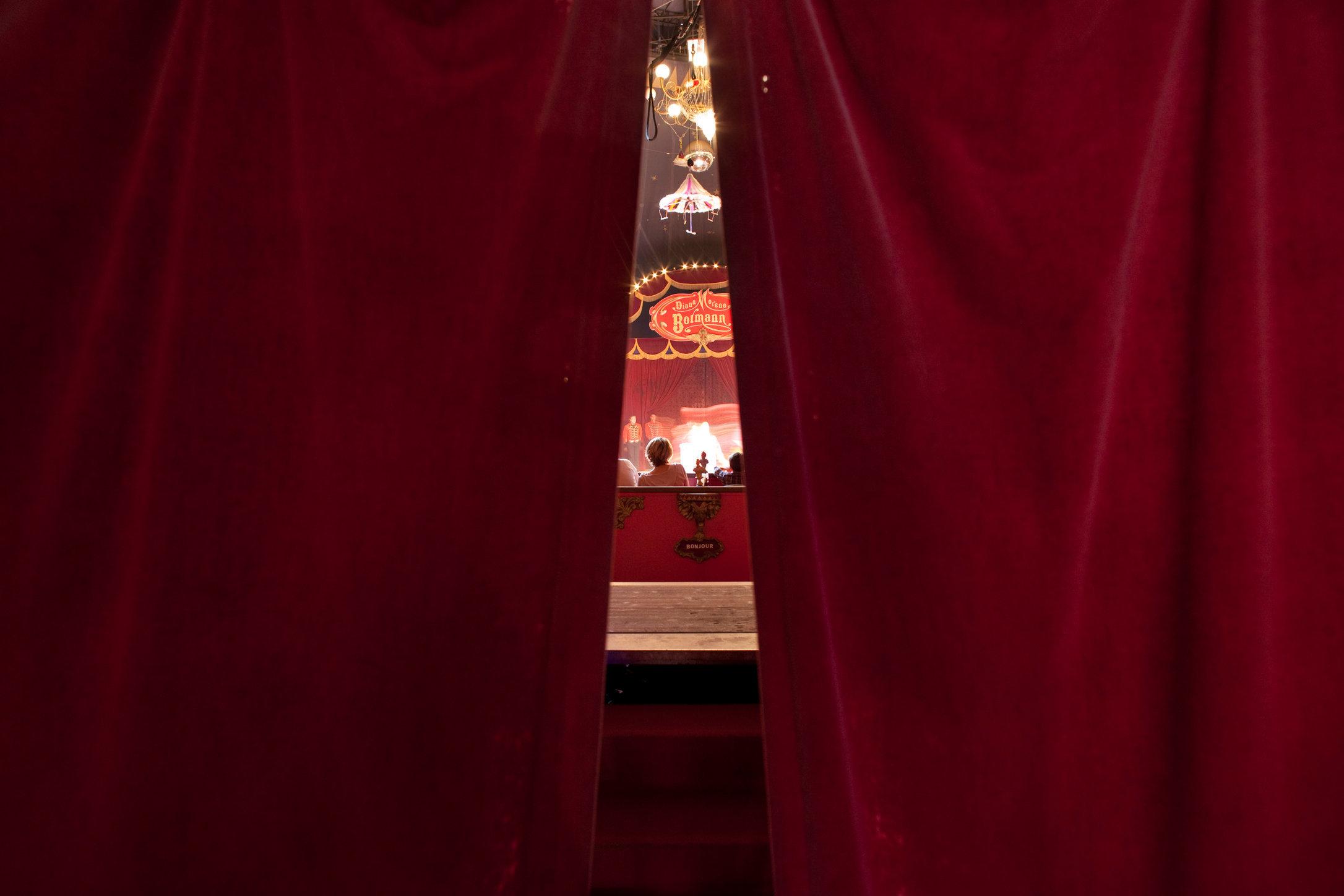 Cirque Diana Moreno, Paris