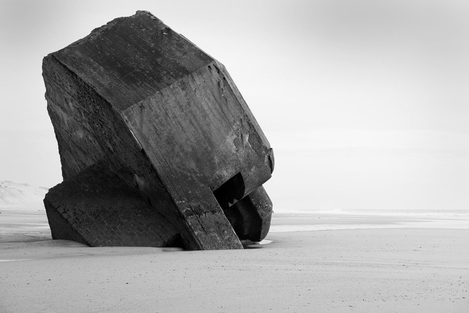 Capbreton, From the series 'Atlantic Wall' © Stefan Vanfleteren