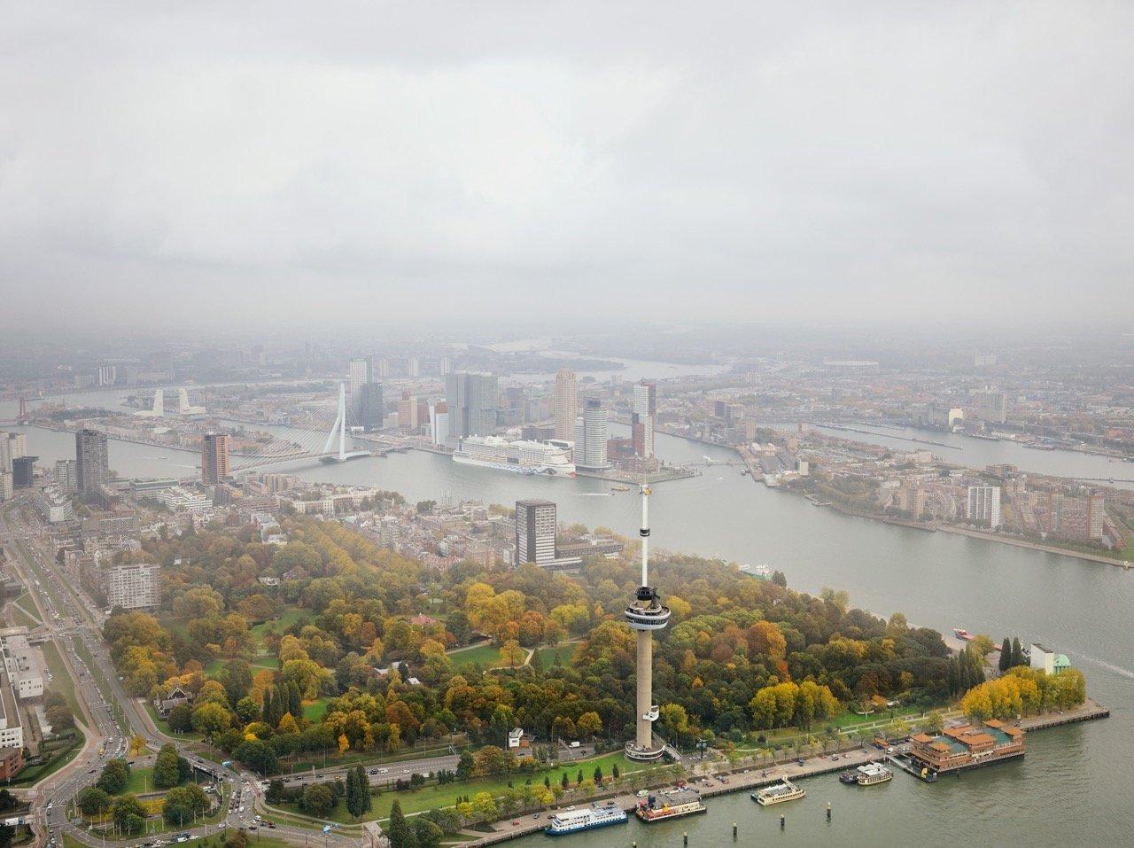 Rotterdam Arial from the series Park © Jeroen Hofman