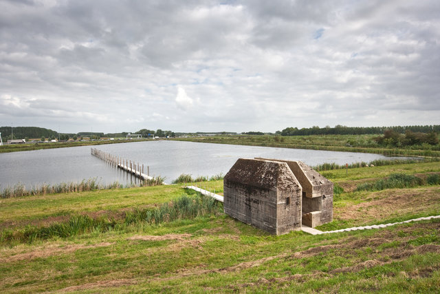 Nieuwe Hollandse Waterlinie, Bunker 599 by Rietveld RAAAF
