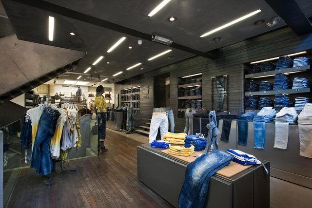 G-star store, Amsterdam