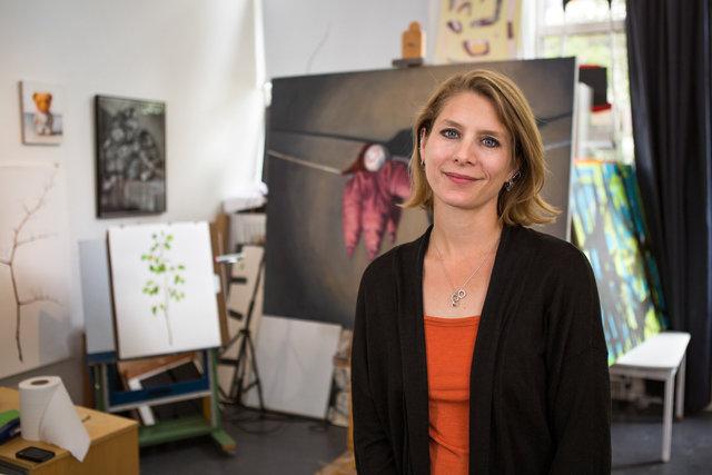 Sarah Blackwelder, artist