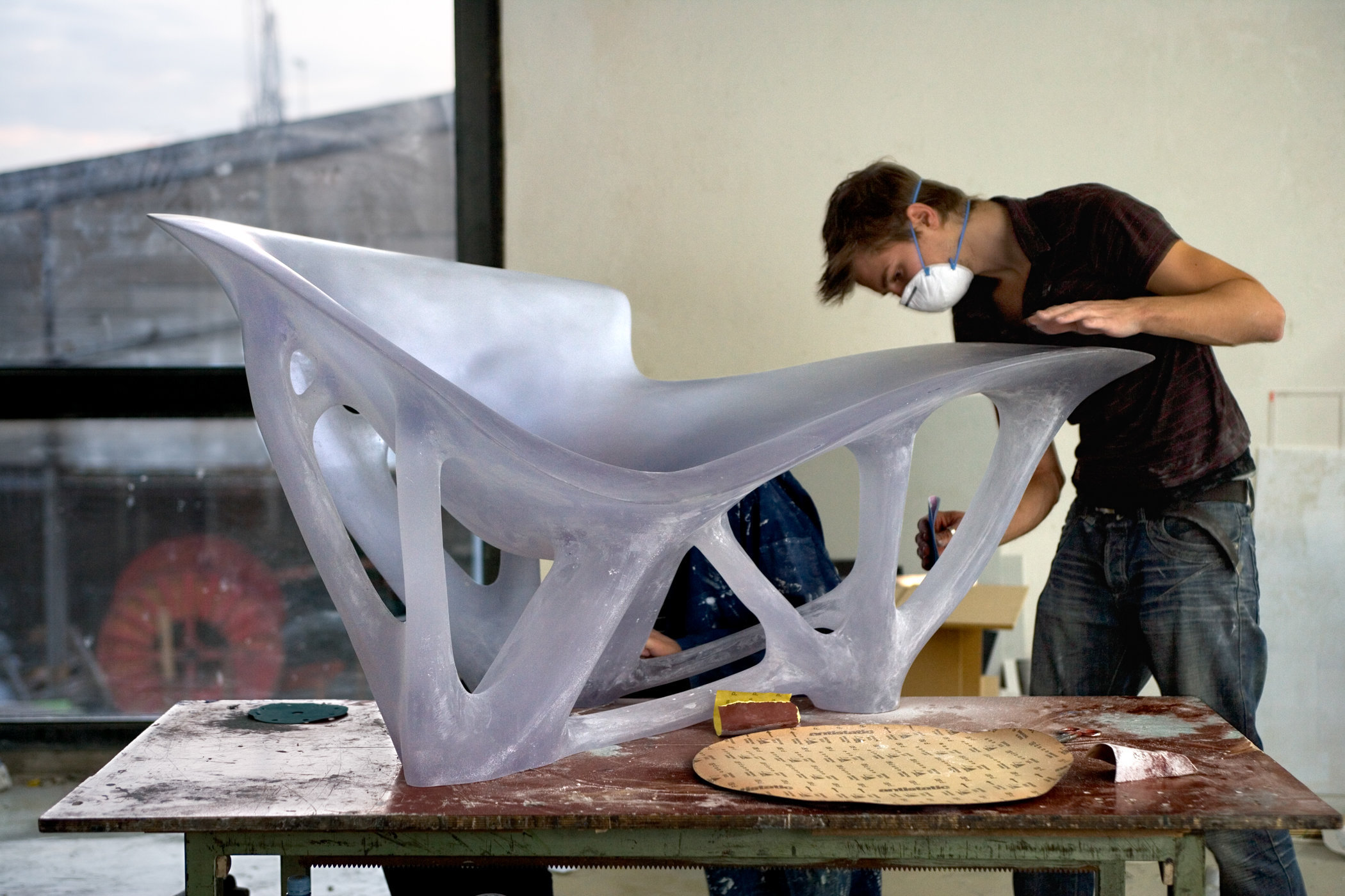 Bone chair prototype, Joris Laarman