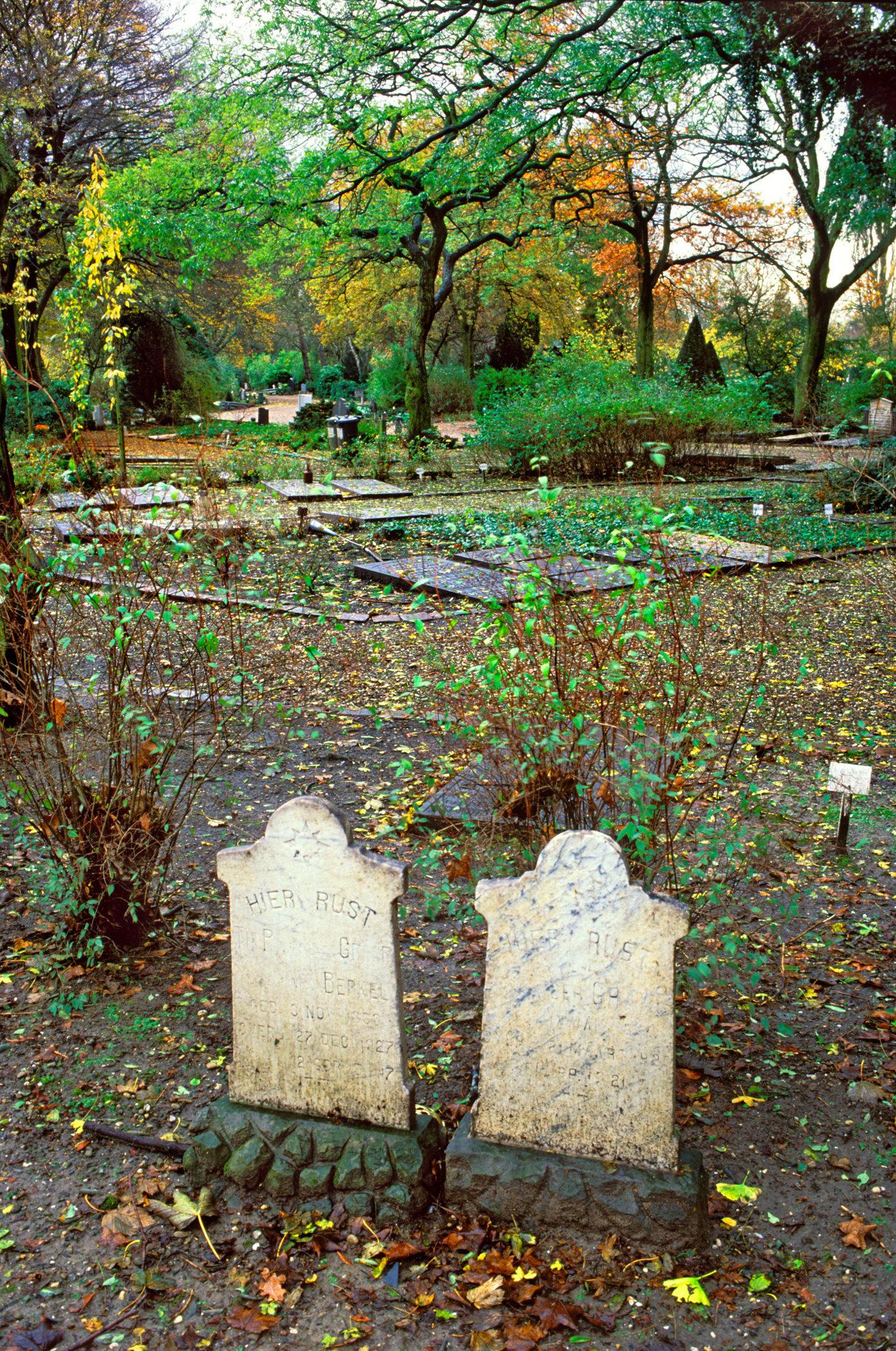 Algemene Begraafplaats Crooswijk, Rotterdam for book: De Stad en de Dood