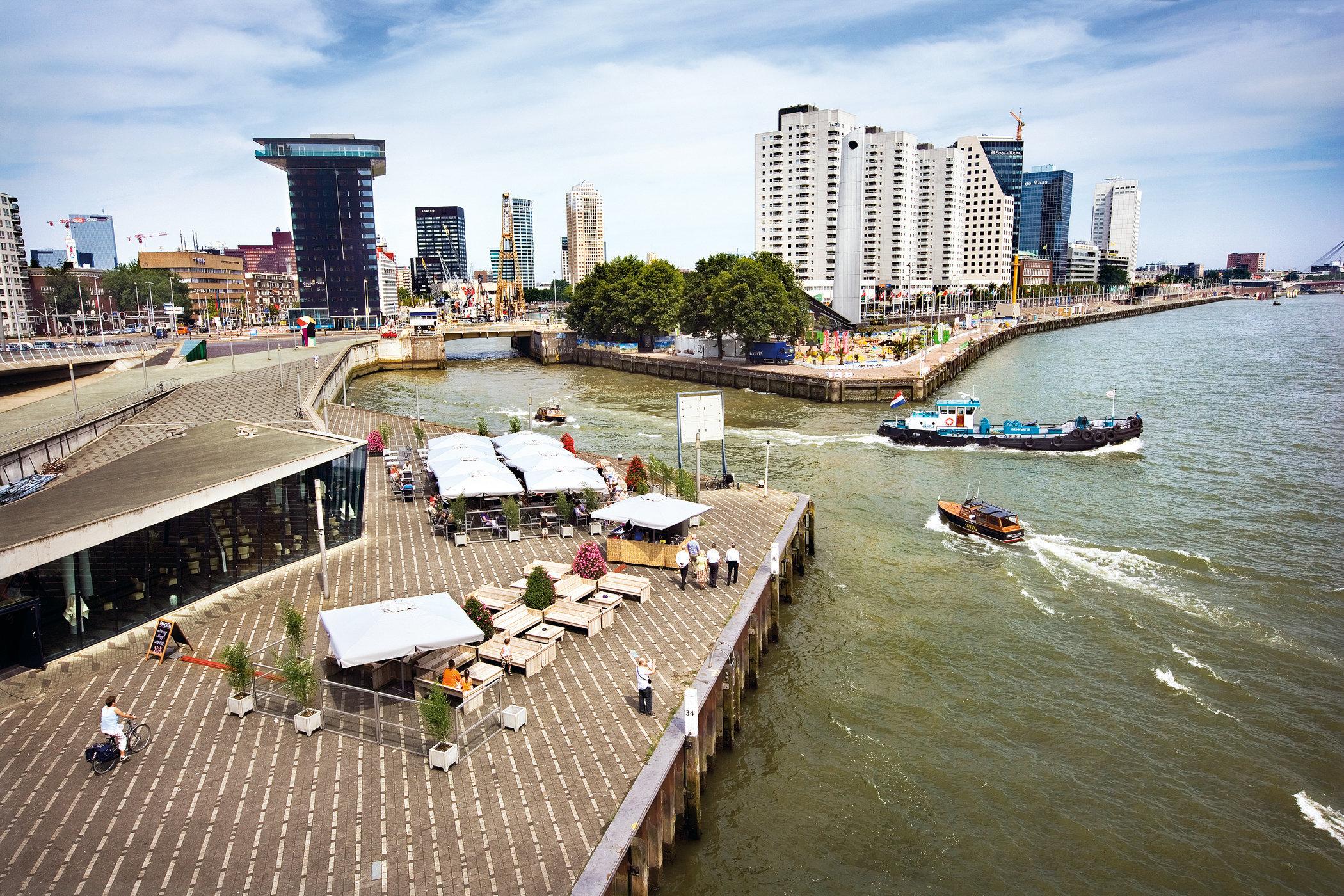 Rotterdam for book: 25 years stichting Forum voor Stedelijke Vernieuwing