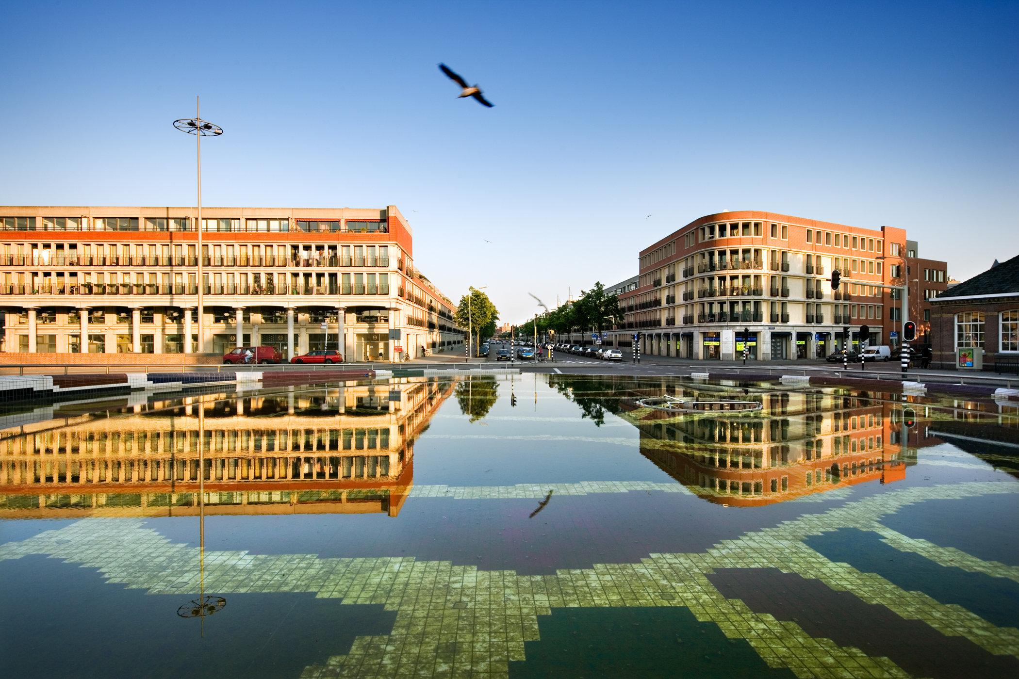 Den Haag for book: 25 years stichting Forum voor Stedelijke Vernieuwing