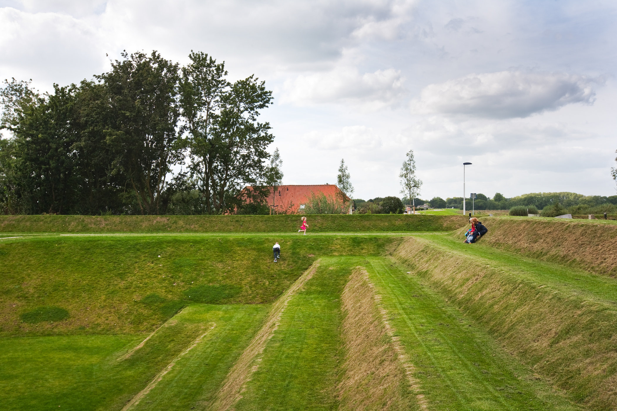 Nieuwe Hollandse Waterlinie, Fort Werk aan 't Spoel, Culemborg, The Netherlands