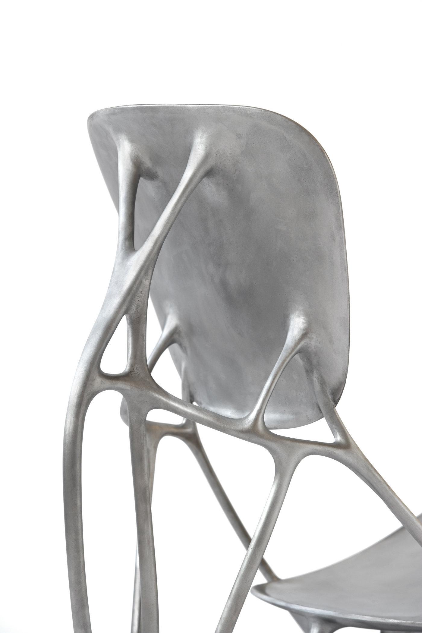 Aluminum Bone Chair (Prototype), Joris Laarman