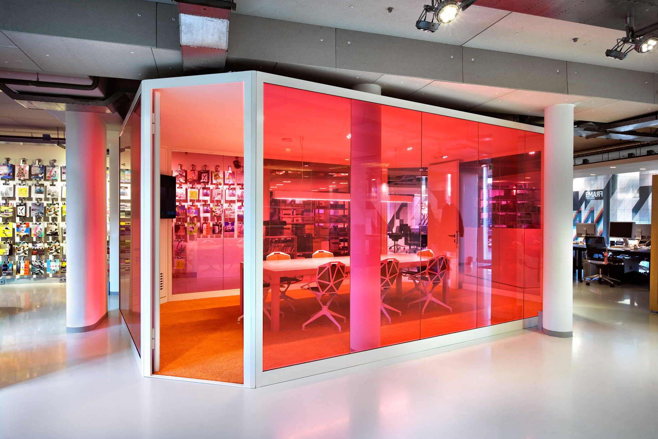 Frame Magazine office, Amsterdam