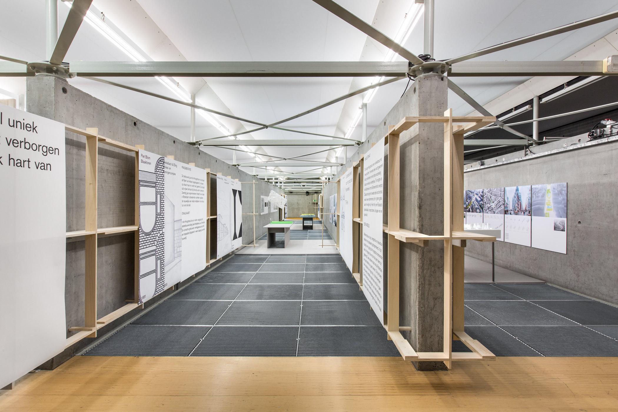 Prix de Rome Architecture 2014 exhibition in Het Nieuwe Instituut, Rotterdam