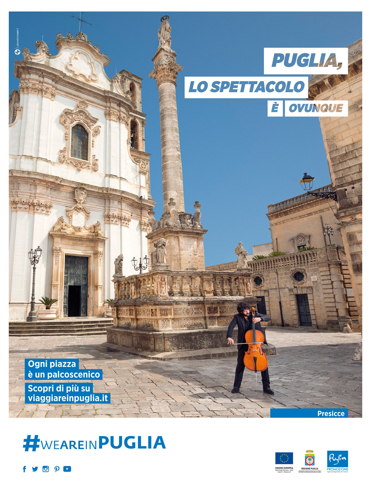 Istitutional Campaign for Puglia