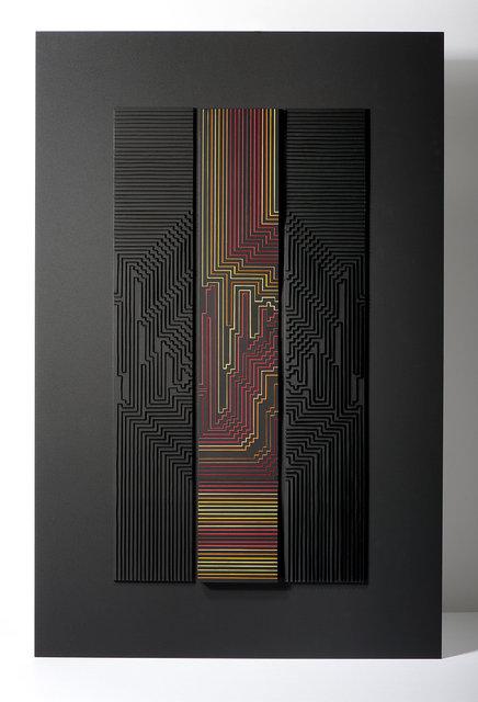 Francoise LUCIANI Lignes Fragmantées 50x70 cm.jpg