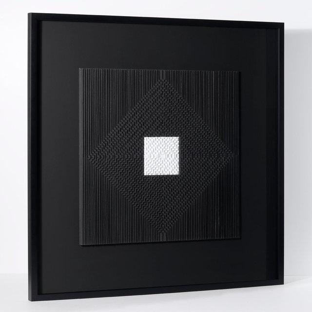 Françoise Luciani Monochrome N&B 72x72cm.jpg