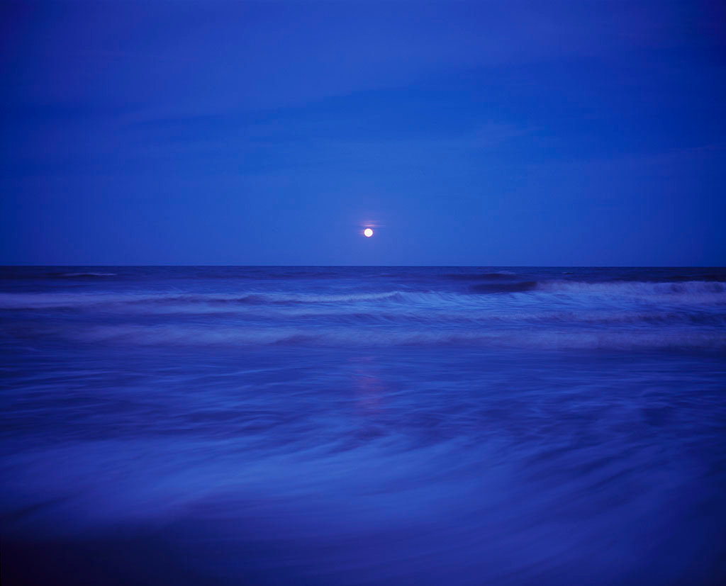 Water and Tides - Full Moon, South Cut Beach, 2017