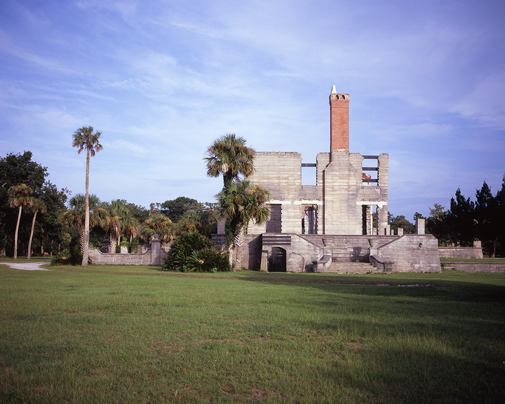 Ruins of Dungeness, a Carnegie Mansion