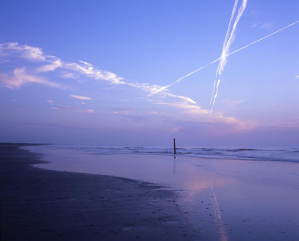 Sunrise over Dungeness Beach