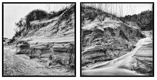 Primary Dune Erosion After Hurricane Matthew, Duck House, 2016