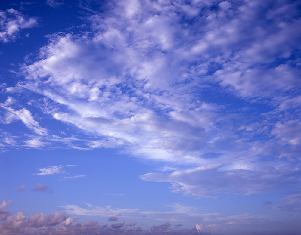 Sky above Little Greyfield Beach