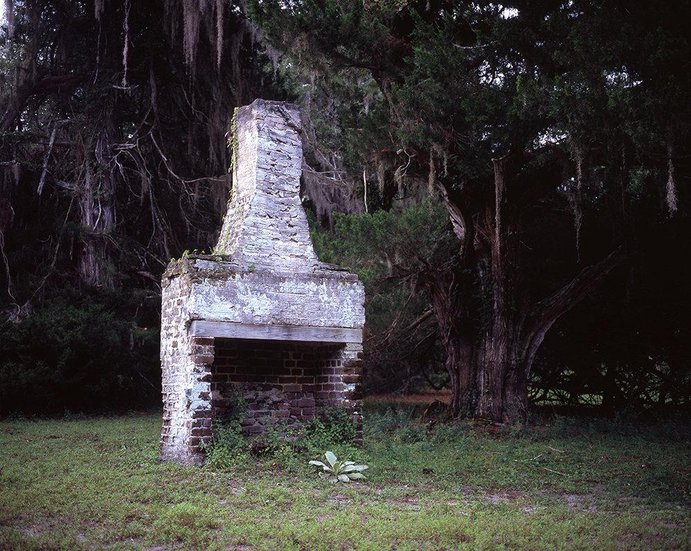 Ruins of a Slave Cabin on Former Stafford Plantation