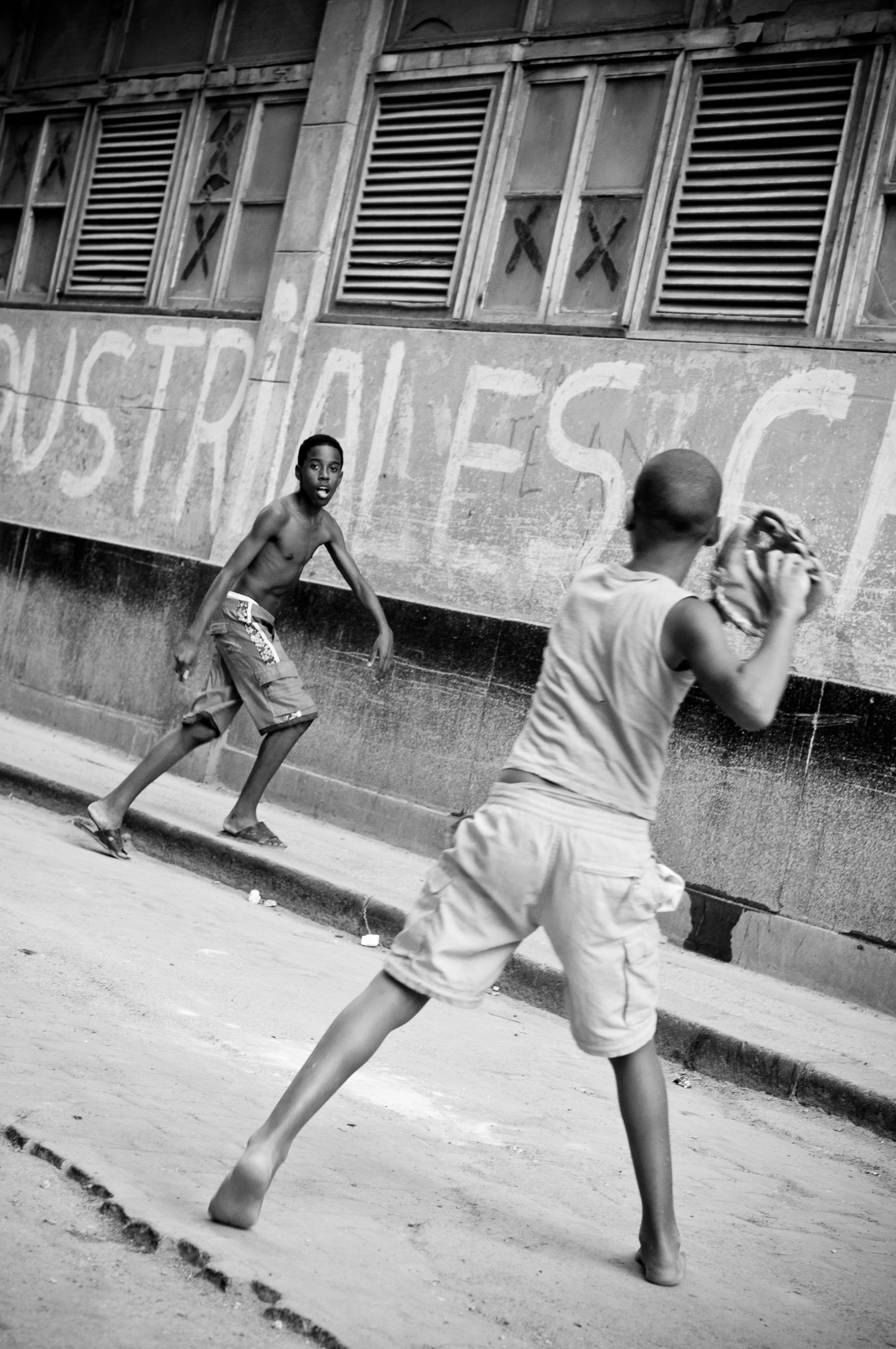 Baseball in Habana Vieja, Cuba 2010