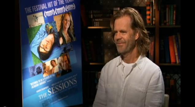 "Actor William H. Macy for ""The Sessions"" Media Tour"