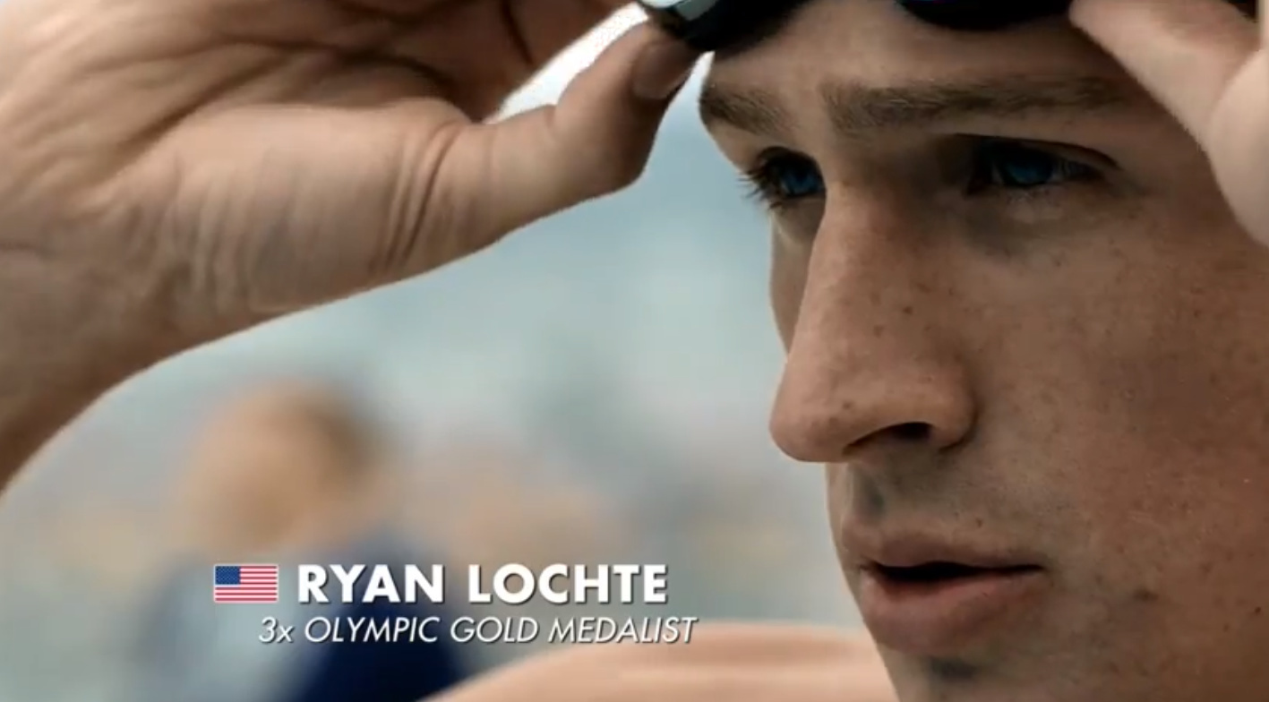 Gilette Ryan Lochte, BBDO 2nd unit DoP