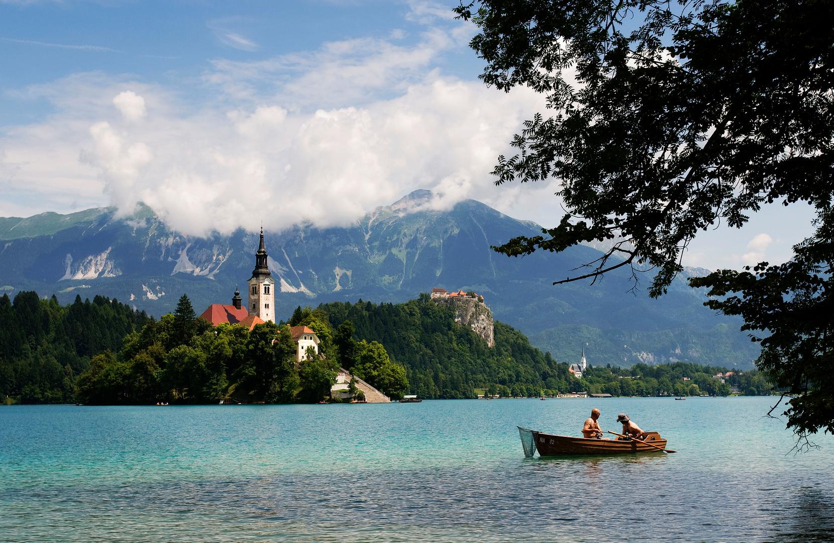 Bled, Slowenie voor ANWB OpPad