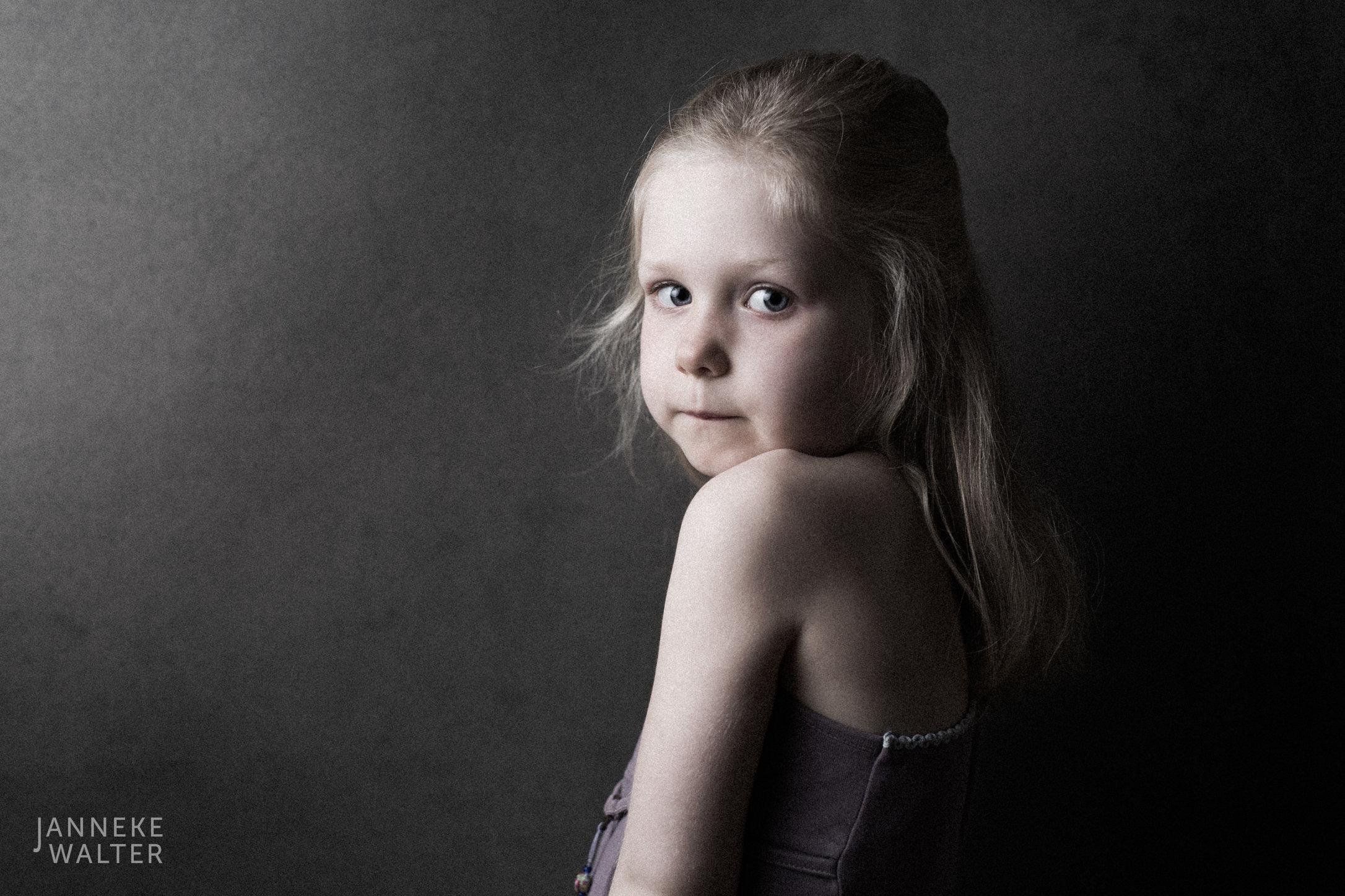 Portretfoto kind @ Janneke Walter, kinderfotograaf Utrecht De Bilt
