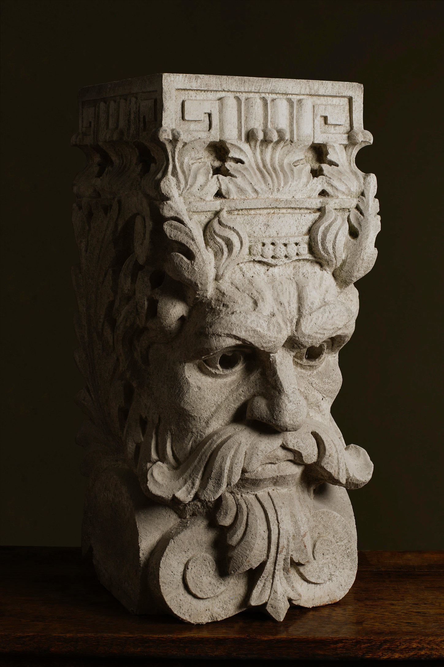 River God, London Stone Carving